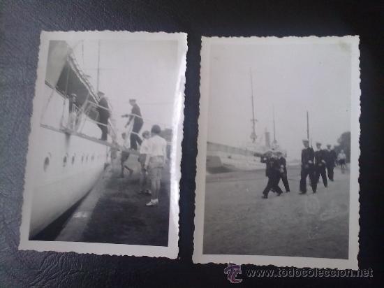 2 FOTOS ORIGINALES ALEMANAS DEL ALMIRANTE KRIEGSMARINE RAEDER ,STETTIN 1940 (Militar - Fotografía Militar - II Guerra Mundial)
