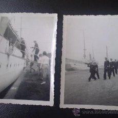 Militaria: 2 FOTOS ORIGINALES ALEMANAS DEL ALMIRANTE KRIEGSMARINE RAEDER ,STETTIN 1940. Lote 27530919