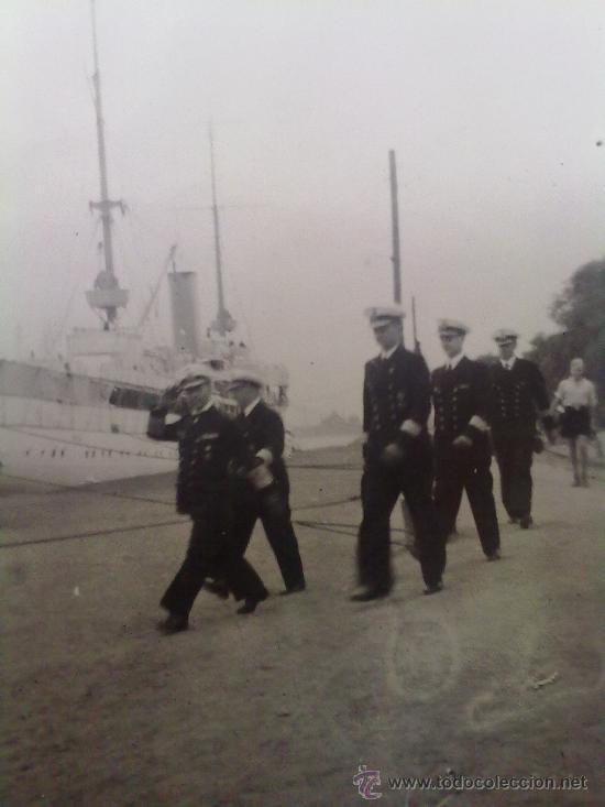Militaria: 2 FOTOS ORIGINALES ALEMANAS DEL ALMIRANTE KRIEGSMARINE RAEDER ,STETTIN 1940 - Foto 2 - 27530919