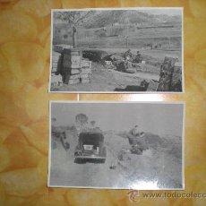Militaria: 2 FOTOGRAFIAS GUERRA CIVIL ESPAÑOLA 1936 - 1939. Lote 24802918
