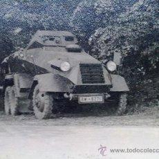 Militaria: FOTO ORIGINAL ALEMANA ,PEQUEÑO BLINDADO ALEMAN ,II GUERRA MUNDIAL. Lote 27040009