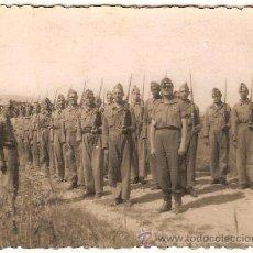 Militaria: 2211 -- LOTE DE 4 FOTOS DE MILITARES (FOTO ARBONA ,CALATAYUD Y CASA ROS). Lote 27544933