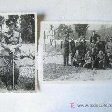 Militaria: PAREJA DE FOTOGRAFIAS DE LA POSTGUERRA - INGENIEROS 1941 Y CURSO DE INFORMACION 1953. Lote 19104058