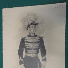 Militaria: LÁMINA DE UNIFORME DE, 30 X 17 CM APROX.. Lote 19288020