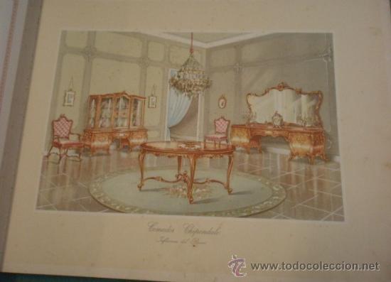 Militaria: Catalogo de gran formato de proyectos de mobiliario de lujo, suministro de planos de taller... - Foto 4 - 19288475