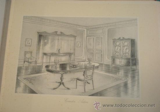 Militaria: Catalogo de gran formato de proyectos de mobiliario de lujo, suministro de planos de taller... - Foto 5 - 19288475