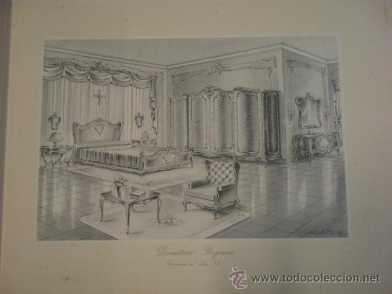 Militaria: Catalogo de gran formato de proyectos de mobiliario de lujo, suministro de planos de taller... - Foto 6 - 19288475