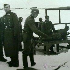Militaria: FOTO ORIGINAL ALEMANA ,SOLDADOS PRACTICANDO TIRO ,IIWW. Lote 22505680