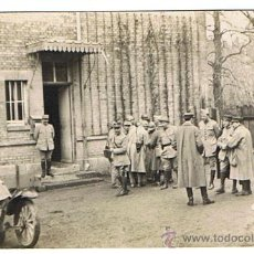 Militaria: I GUERRA MUNDIAL, MILITARES FRANCESES EN CUARTEL DE CAMPAÑA, ORIGINAL DE ÉPOCA 1914-19, VER FOTOS. Lote 26942652