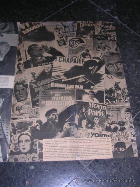 Militaria: REVISTA, URSS EN CONSTRUCCION-Nº1-1938,DEDICADO AL CINE SOVIETICO,TEXTO,VALENTIN KATAIEV,FOTOS,G.PET - Foto 4 - 27020460