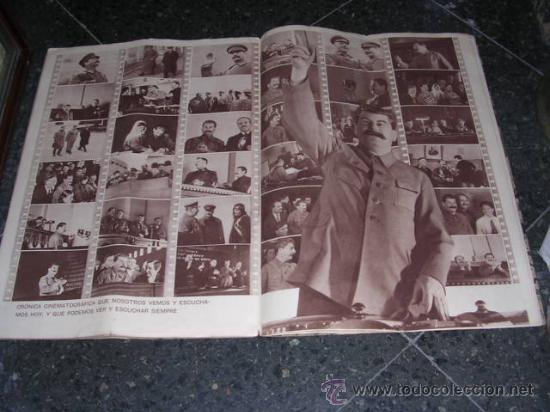 Militaria: REVISTA, URSS EN CONSTRUCCION-Nº1-1938,DEDICADO AL CINE SOVIETICO,TEXTO,VALENTIN KATAIEV,FOTOS,G.PET - Foto 5 - 27020460
