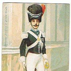 Militaria: POSTAL DE ÉPOCA, AÑO 1910 - 1920, GUARDIA PONTIFICIA, VER FOTOS.. Lote 26972541