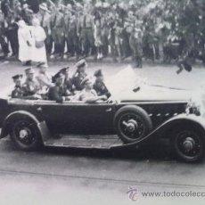 Militaria: FOTO ORIGINAL ALEMANA ,JOSEPH GOEBBELS EN COCHE OFICIAL ,IIWW. Lote 27272007