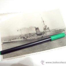 Militaria: FOTOGRAFIA DEL BUQUE DE GUERRA NERVION DM2 - AÑOS 40 - CARTAGENA. Lote 22041261