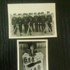 Militaria: 2 FOTOS ORIGINALES ALEMANAS ,POLICIA Y ESCUDO ,IIWW. Lote 21798887