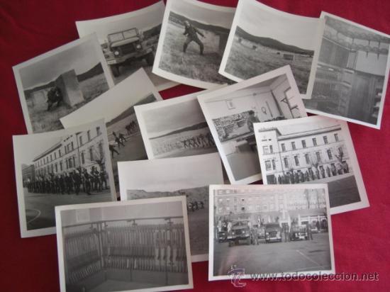 LOTE DE FOTOGRAFÍAS. POSIBLEMENTE CUARTEL INMEMORIAL DEL REY Nº 1. AÑOS 80. (Militar - Fotografía Militar - Otros)