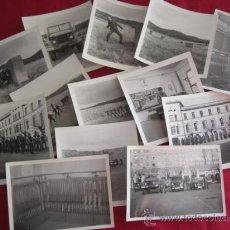 Militaria: LOTE DE FOTOGRAFÍAS. POSIBLEMENTE CUARTEL INMEMORIAL DEL REY Nº 1. AÑOS 80.. Lote 21883158