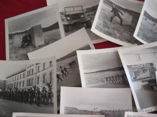 Militaria: Lote de fotografías. Posiblemente cuartel Inmemorial del Rey Nº 1. Años 80. - Foto 2 - 21883158
