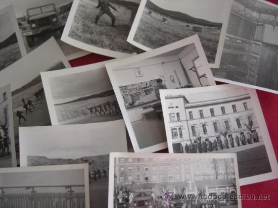 Militaria: Lote de fotografías. Posiblemente cuartel Inmemorial del Rey Nº 1. Años 80. - Foto 3 - 21883158