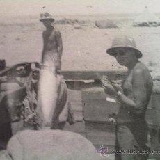 Militaria: FOTO ORIGINAL ,SOLDADOS LUFTWAFFE AFRIKA KORPS. Lote 27464120