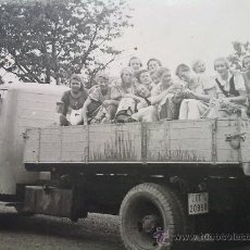 Militaria: FOTO ORIGINAL ,MUJERES ALEMANAS ,BDM,EPOCA II GUERRA MUNDIAL. Lote 27509756