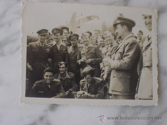 AVIACION, AVIADORES LEGIONARIOS GUERRA CIVIL (Militar - Fotografía Militar - Guerra Civil Española)