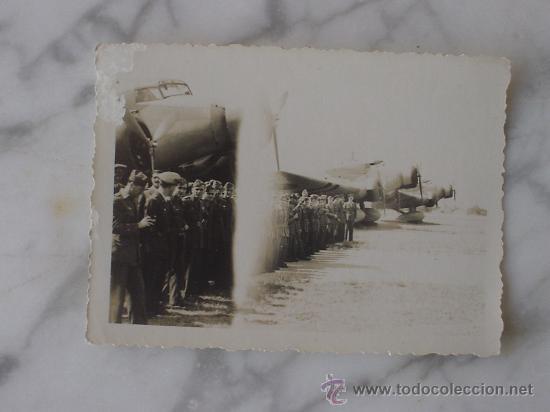 AVIACION , PILOTOS LEGIONARIOS GUERRA CIVIL. (Militar - Fotografía Militar - Guerra Civil Española)