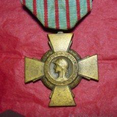 Militaria: CRUZ DE COMBATIENTE FRANCIA.. Lote 22442429