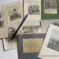 Militaria: LOTE DE FOTOGRAFIAS DE LA BRIGADA OBRERA TOPOGRÁFICA DE ESTADO MAYOR - PRINCIPIOS DEL S XX. Lote 23026689