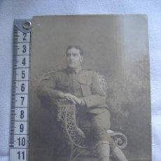 Militaria: FOTOGRAFÍA DE UN SOLDADO AMERICANO. AÑO 1909.. Lote 23066223