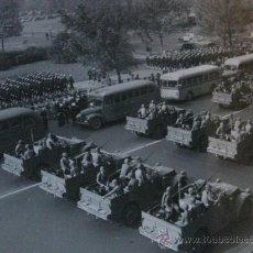 Militaria: TOP FOTOGRAFIA II GUERRA MUNDIAL DESFILE ALIADO VICTORIA II GUERRA MUNDIAL . Lote 23339967
