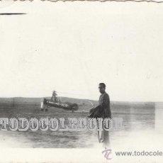 Militaria: AUTOGIRO DE LA CIERVA. FOTO ORIGINAL AÑOS 30. C-AC10 PEQUEÑA 6,5 X 4,5 CM CASA HELICOPTERO AVION. Lote 23439561