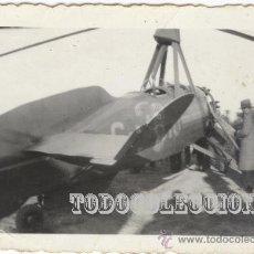 Militaria: AUTOGIRO DE LA CIERVA. FOTO ORIGINAL AÑOS 30. C-AC10 6,5 X 4,5 CM CASA AVION HELICOPTERO. Lote 23439604