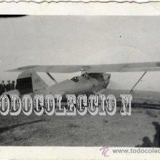 Militaria: AVIONETA CASA CONSTR. AERONAUTICAS S.A.FOTO ORIGINAL AÑOS30. PEQUEÑA 6,5 X 4,5 CM ¿CUATRO VIENTOS?. Lote 23439687