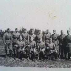 Militaria: FOTO ORIGINAL ,SOLDADOS ALEMANES ,II GUERRA MUNDIAL. Lote 23552717