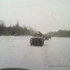 Militaria: FOTO ORIGINAL ,BLINDADO ALEMAN EN COLUMNA,IIWW. Lote 26289455