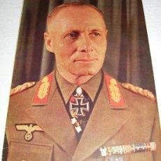 Militaria: ERWIN ROMMEL GENERAL MARISCAL DE CAMPO, CTE SUPREMO EJÉRCITO PANZER DE ÁFRICA, AFRIKAKORP EN COLOR. Lote 23876776