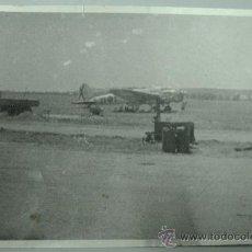 Militaria: FOTO AVIACION HEINKEL ALA-25 DE TABLADA AÑOS 60. Lote 23939430