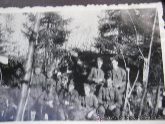 FOTO 100% ORIGINAL II GUERRA MUNDIAL TROPAS ALEMANAS DESCANSANDO (Militar - Fotografía Militar - II Guerra Mundial)