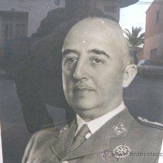 Militaria: FOTO DE FRANCO ENMARCADA. JALON ANGEL. Lote 26397203