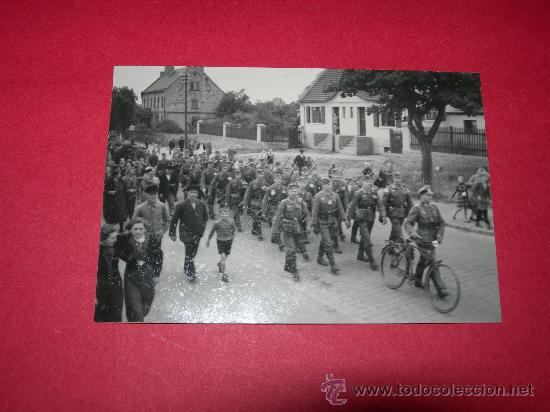 FOTO DESFILE WEHRMACHT(013) (Militar - Fotografía Militar - II Guerra Mundial)