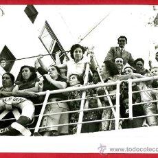 Military - FOTO GUERRA CIVIL, REPATRIADOS DE VUELTA A VALENCIA 1956 , ORIGINAL, B35 - 26110511