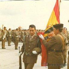 Militaria: FOTOS DE UNA JURA DE BANDERA. Lote 26341713