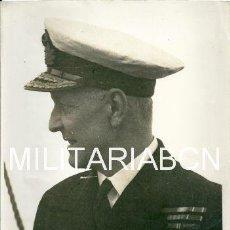Militaria: REINO UNIDO. FOTOGRAFIA DE PRENSA ORIGINAL DE LA 2ª GUERRA MUNDIAL. REAR ADMIRAL E.N. SYFRET, C.B. . Lote 26364804