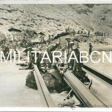 Militaria: REINO UNIDO. FOTOGRAFIA DE PRENSA ORIGINAL DE LA 2ª GUERRA MUNDIAL. ALLIES ADVANCE TO SYRIA.. Lote 26364814