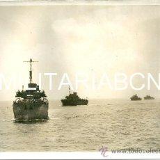 Militaria: REINO UNIDO. FOTOGRAFIA DE PRENSA ORIGINAL DE LA 2ª GUERRA MUNDIAL. ITALIAN AIR ATTACK ON BRITISH . Lote 26365084