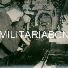 Militaria: REINO UNIDO. FOTOGRAFIA DE PRENSA ORIGINAL DE LA 2ª GUERRA MUNDIAL. H.M. SUBMARINE. Lote 26385478