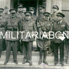 Militaria: REINO UNIDO. FOTOGRAFIA DE PRENSA ORIGINAL DE LA 2ª GUERRA MUNDIAL. THE BELGIAN GENERAL STAFF IN LON. Lote 26661563