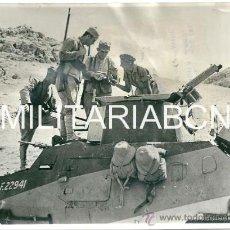 Militaria: REINO UNIDO. FOTOGRAFIA DE PRENSA ORIGINAL DE LA 2ª GUERRA MUNDIAL. THE OCCUPATION OF SYRIA. . Lote 26662557