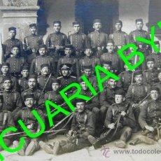Militaria: FOTOGRAFÍA ANTIGUA ORIGINAL. MILITARES ESPAÑOLES.. Lote 27091691